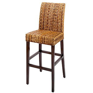 outdoor wicker bar stool